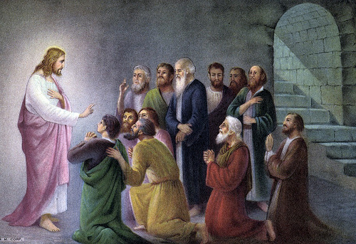 Christ Appears to Disciples