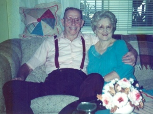 Louis and Evelyn Simmons