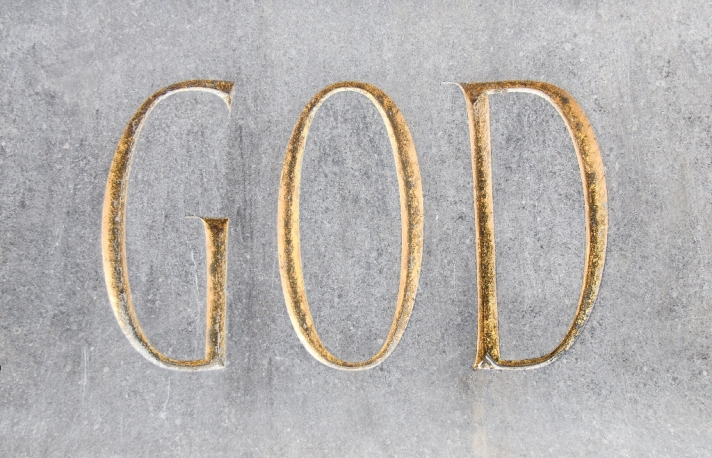 God Inscription