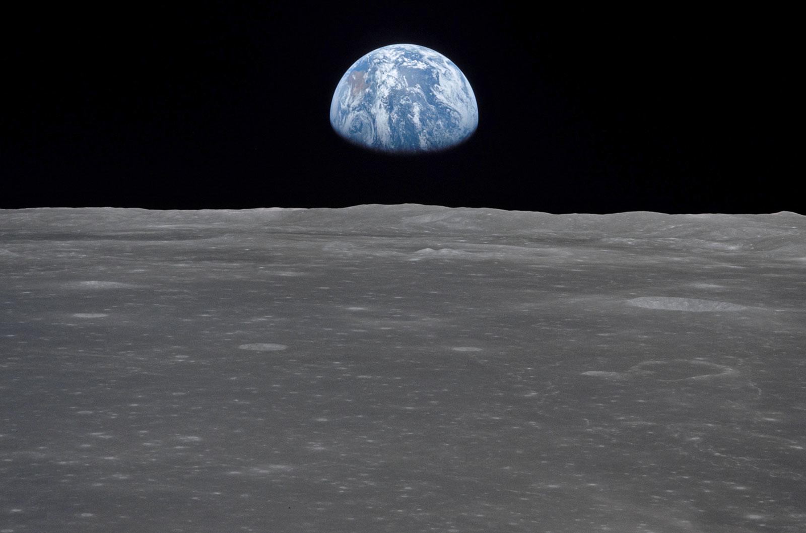 Moon Earth NASA