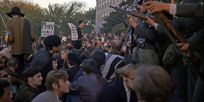 Vietnam War Protests at Pentagon - October 1967